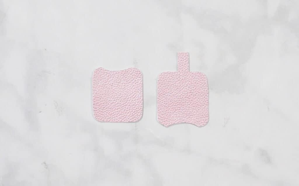Hand Sanitizer Holder by popular US craft blog, Sweet Red Poppy: image of no sew hand sanitizer holder.
