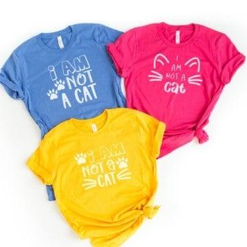 I'm not a cat SVG file