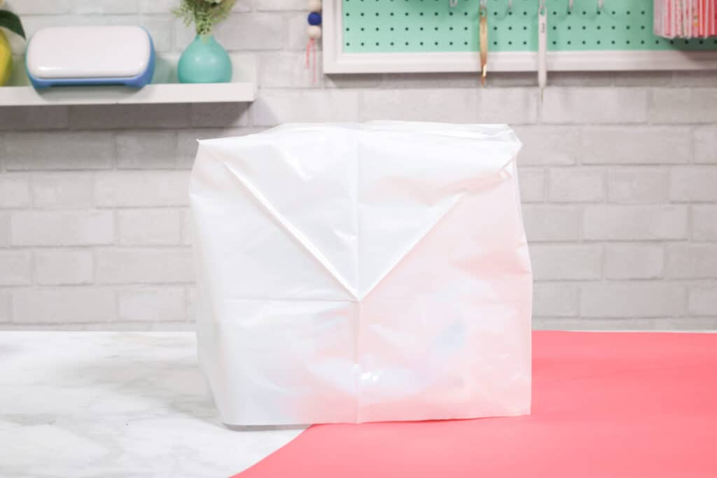 Serger Machine Softcover | Serger Machine by popular US sewing blog, Sweet Red Poppy: image of a serger machine cover.